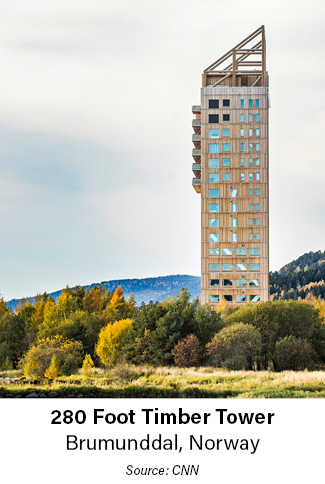 280 Foot Timber Tower