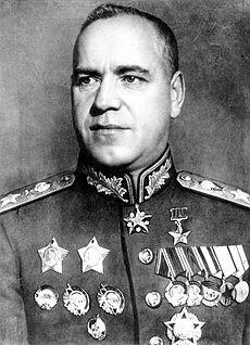 Marshal Georgi Zhukov