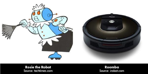 Rosie the Robot vs. Roomba